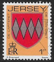 Jersey SG250 1981 Definitive 1p good/fine used